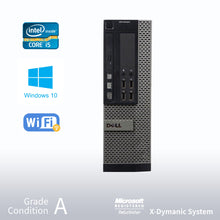 Load image into Gallery viewer, ** 2 Years Warranty ** Refurbished DELL Optiplex 7010 Desktop, Intel i5 3470 3.2GHz/24GB / 512GB SSD/ DVD/ Win10 Pro/Fast AC 600 WiFi USB