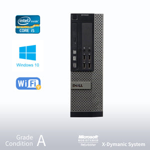 ** 2 Years Warranty ** Refurbished DELL Optiplex 7010 Desktop, Intel i5 3470 3.2GHz/24GB / 512GB SSD/ DVD/ Win10 Pro/Fast AC 600 WiFi USB