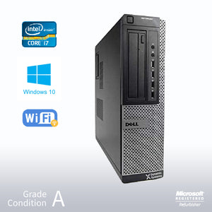 Refurbished DELL Optiplex 7010 Desktop, Intel i7 3770 3.4GHz/32GB /NEW 960GB SSD/ DVD/ Win10 Pro/Fast AC 600 WiFi USB