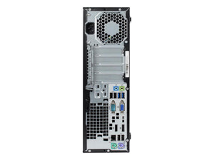 Refurbished HP Grade A EliteDesk 800G1 SFF Intel Core I5-4570/16 GB RAM /NEW 480 GB SSD / Win 10 Pro