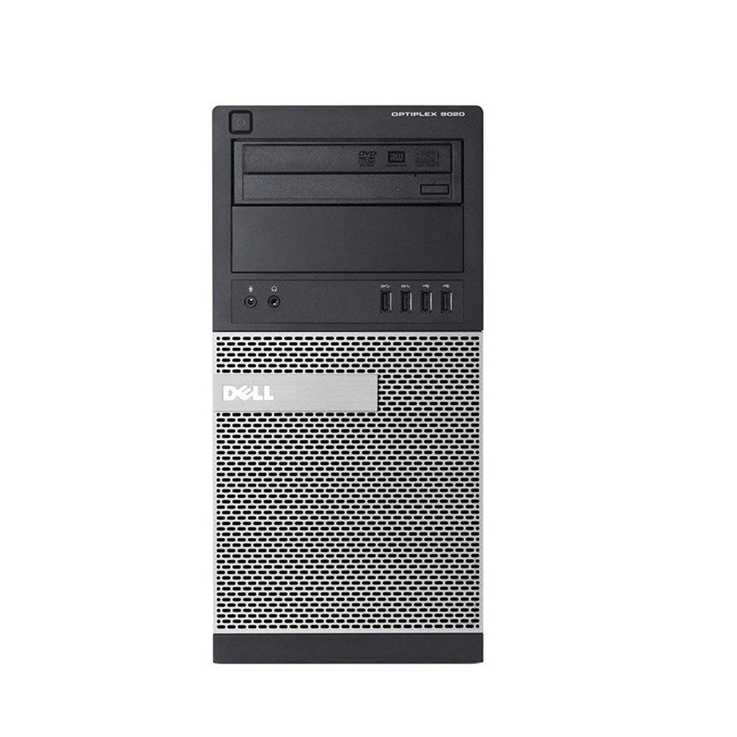 Refurbished Dell Optiplex 9020 Mini Tower  Intel Core i7-4770-3.4 GHz / 24GB/ Intel 800GB SSD / WiFi / DVD-RW / Windows 10 Pro