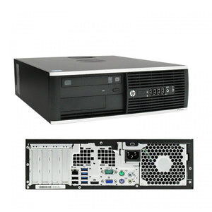 HP Elite 8300 SFF  Computer, Intel Quad-Core i5 3rd Gen CPU, 16GB RAM, 240GB SSD, WiFi USB, Windows 10 Professional
