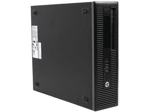 HP Desktop Computer EliteDesk 800 G1 Intel Core i5 4th Geni5-4570 16 GB DDR3 240 GB SSD Intel HD Graphics 4600 Windows 10 Pro 64-Bit