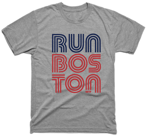 Run Boston T-Shirt - Gray