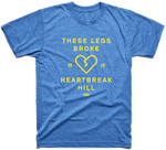 Heartbreak Hill T-Shirt - Blue