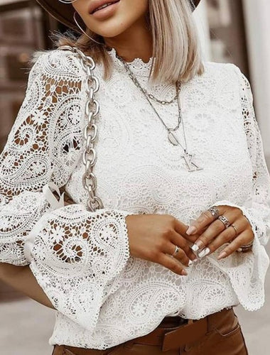 Paisley Lace Top