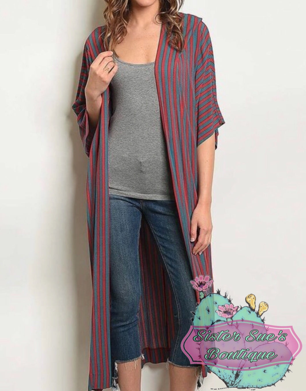 True Stripes Duster
