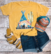 Leave The West Wild Distressed Tee