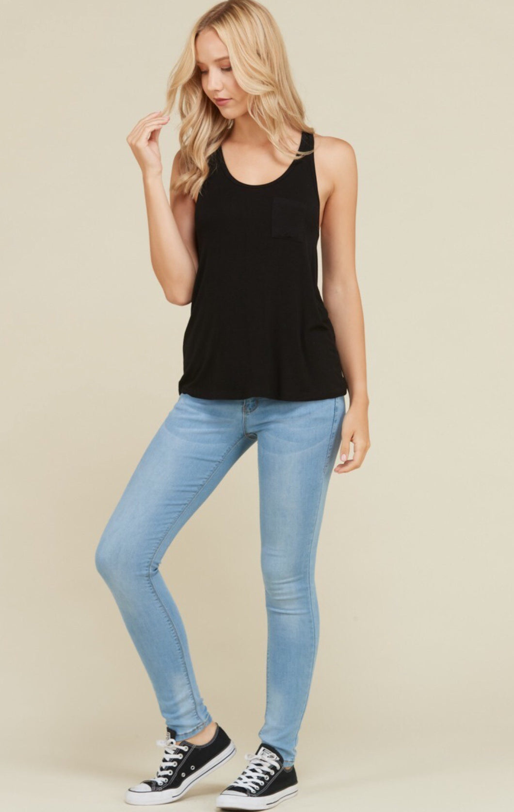 The Pocket Tank - Black