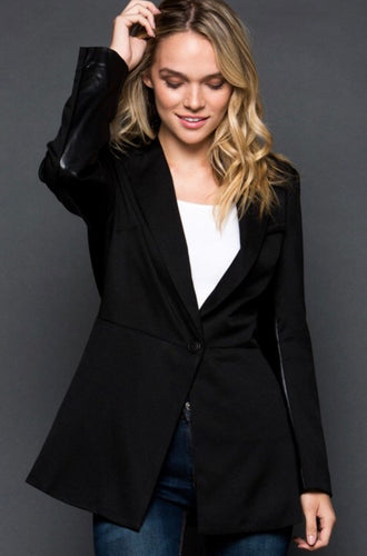 Strictly Business Blazer - Black