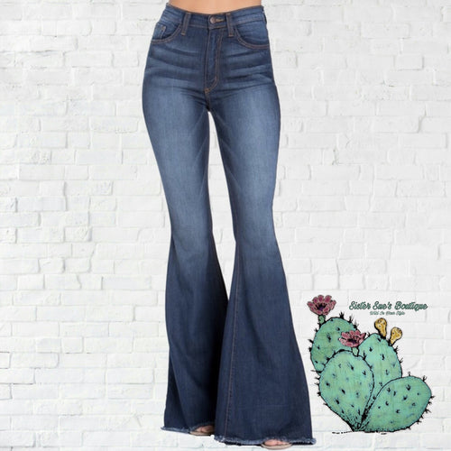True Lovin' Bell Jeans - Dark Wash