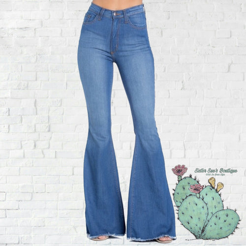 True Lovin' Bell Jeans - Medium Wash