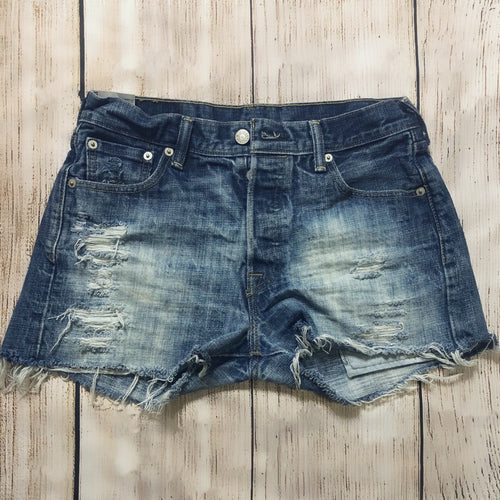 Vintage Distressed 501 Cutoffs