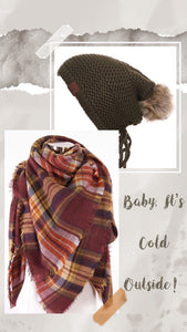 Brick Plaid Scarf