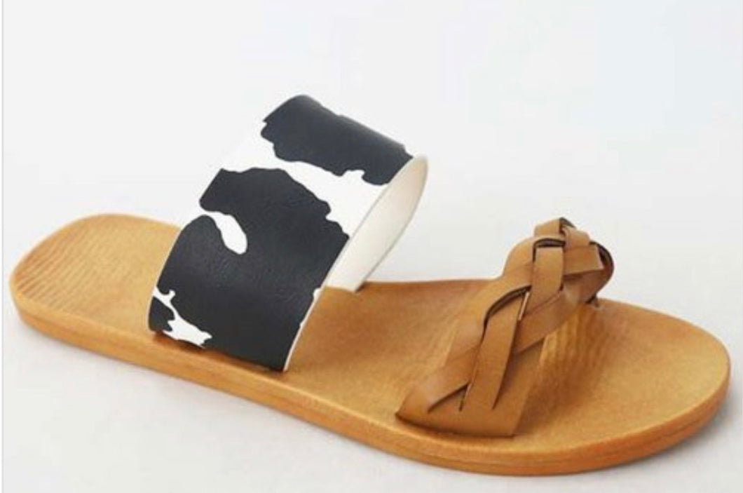 Moo Shoe Slides