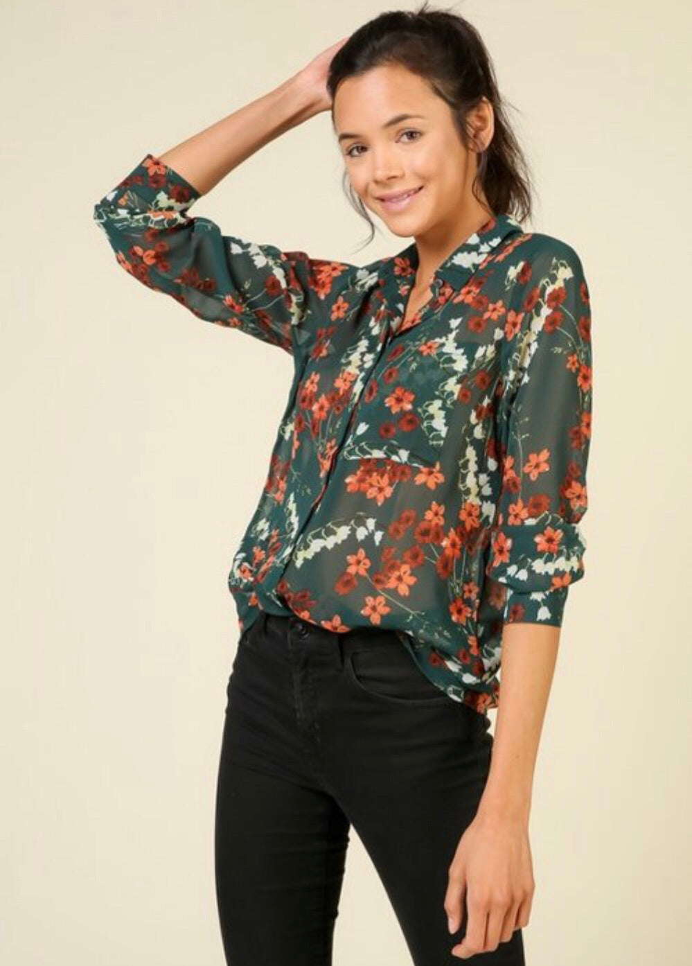 With Envy Blouse