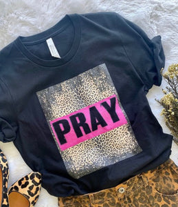 Pray Fiercely Tee