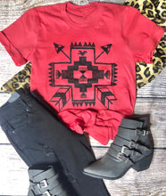 Aztec Cross Tee