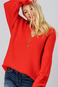 Fireside Flirting Sweater