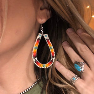 Bordertown Beaded Earrings