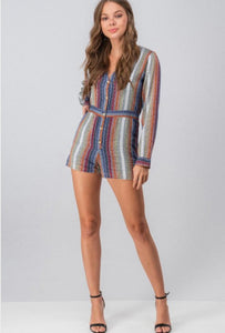 Silver Lining Romper