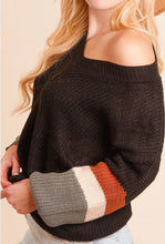 Color Block Boyfriend Sweater