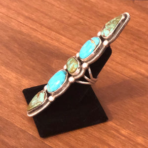 Lady Finger Turquoise Ring
