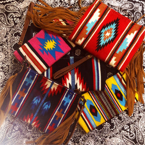 Saddle Blanket Arm Candy Bags