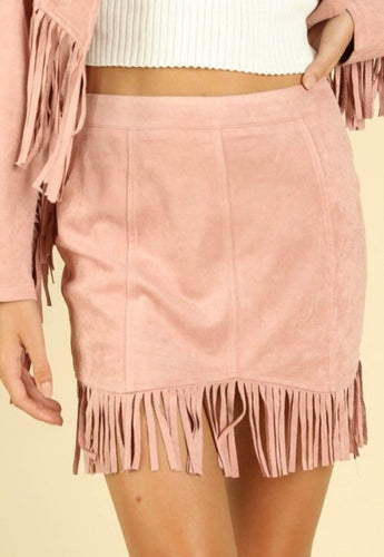 Dolly's Dusty Pink Skirt