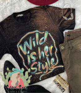 Wild In Her Style Tee