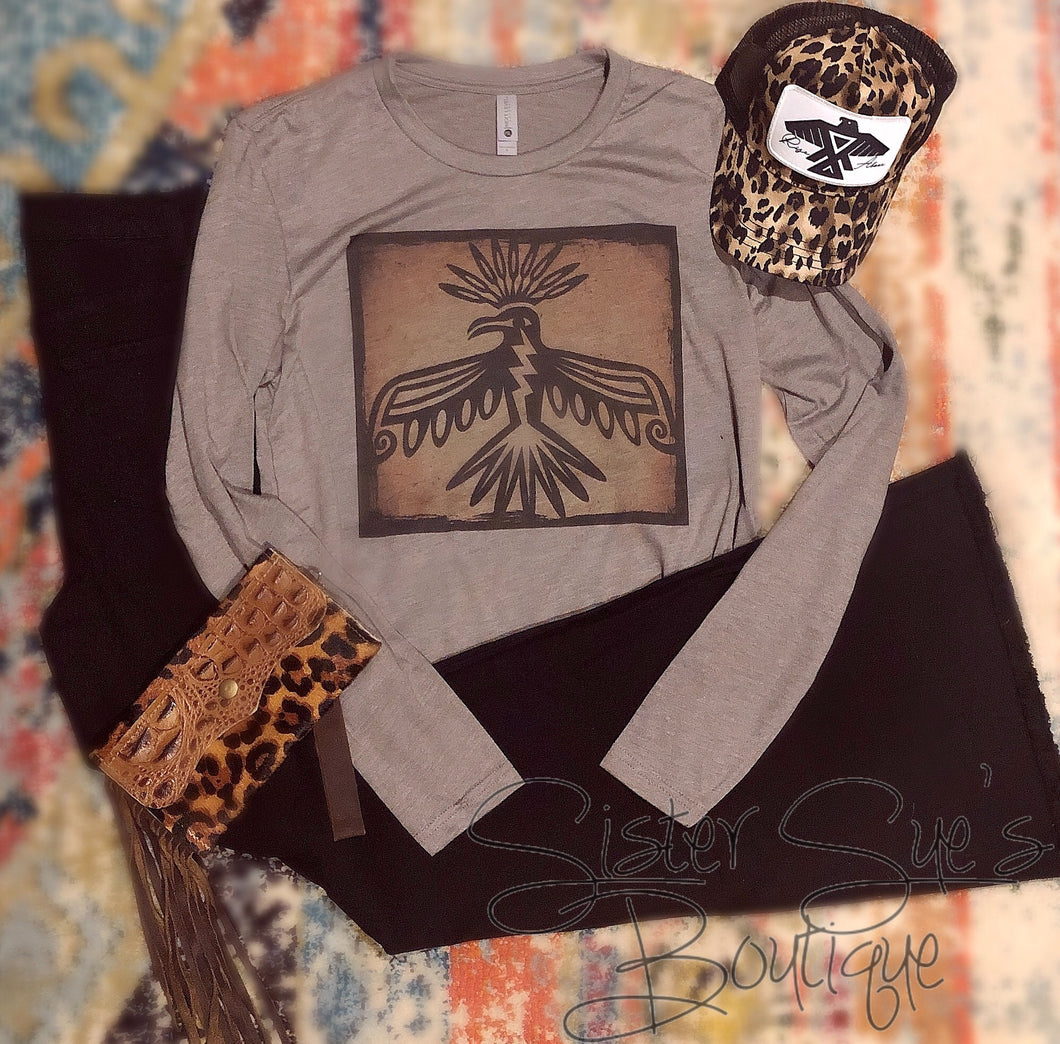 Sienna Thunderbird Long Sleeve Tee