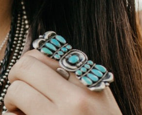 Statement Fan Ring