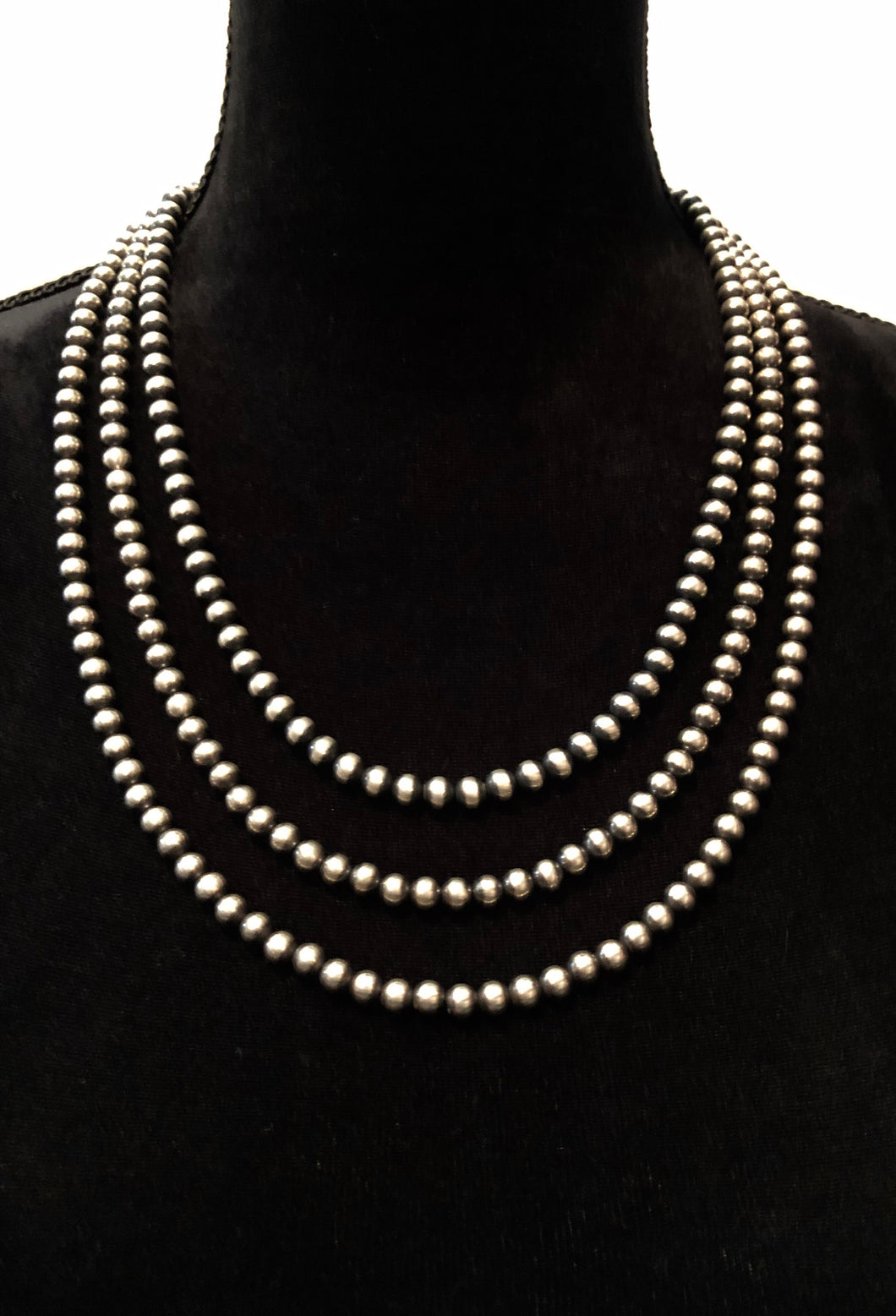 6mm Navajo Pearl Necklaces