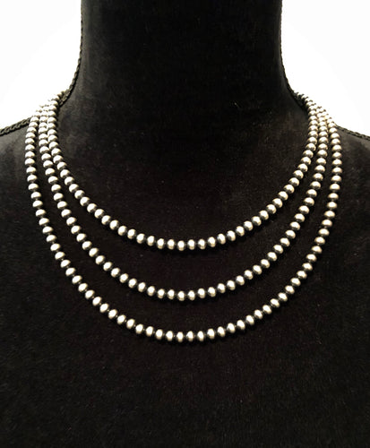5mm Navajo Pearl Necklaces