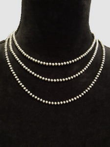 4mm Navajo Pearl Necklaces