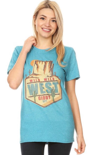 Way Out West Tee