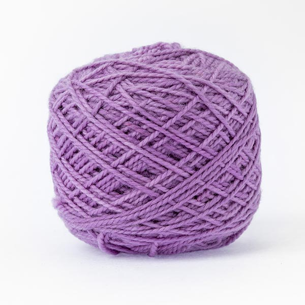 karoo moon first moon 100% merino wool lavender purple colour wool