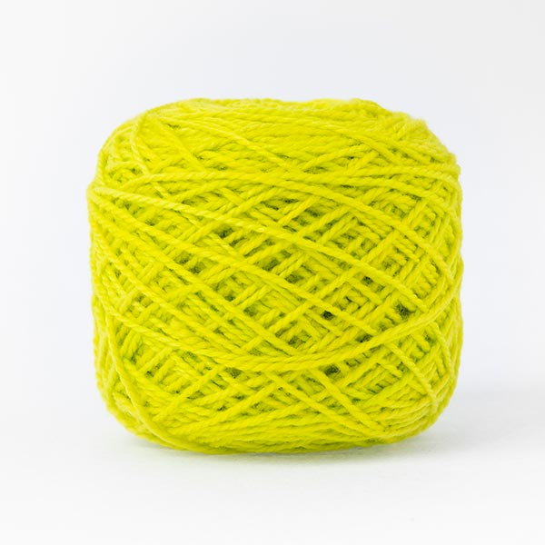 karoo moon 100% merino wool lime green