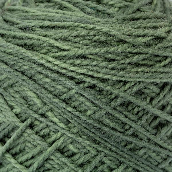 karoo moon dull green detail wool first moon