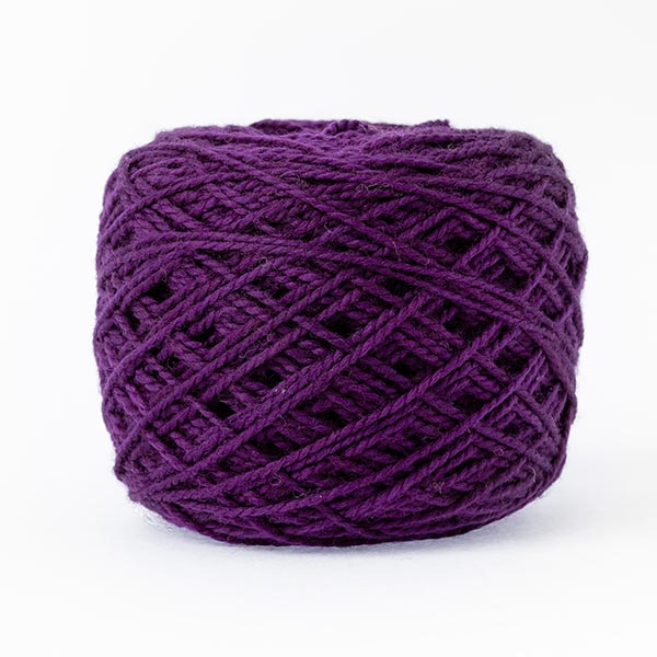karoo moon first moon 100% merino wool passion purple colour wool