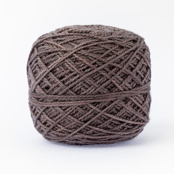 first moon 100% merino wool pebble brown neutral colour wool