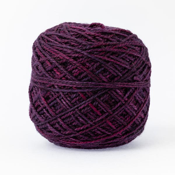 karoo moon first moon 100% merino wool plum purple colour wool