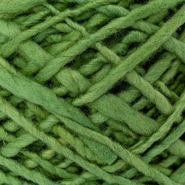 100% merino wool green colour wool texture detail