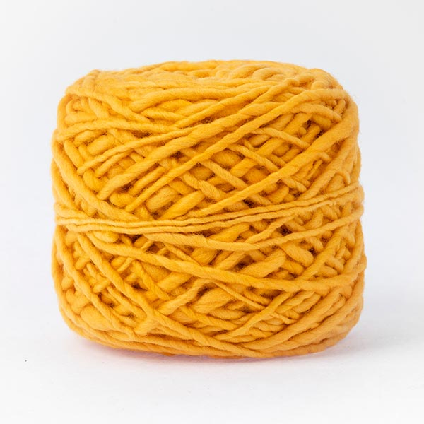 100% merino wool golden yellow colour