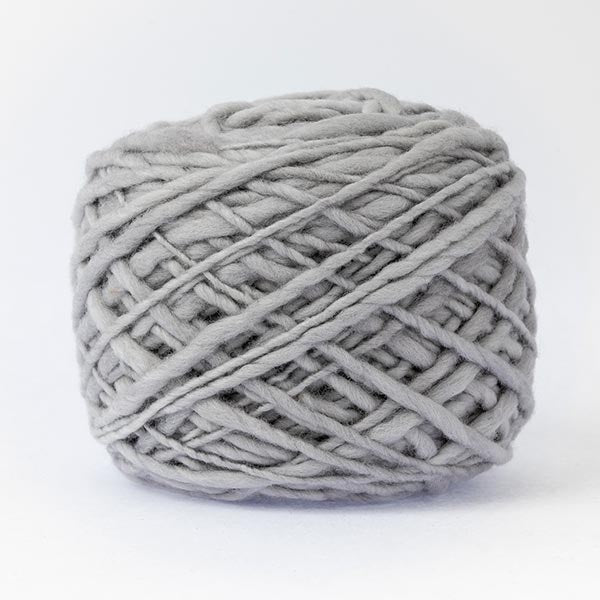 100% merino wool light grey colour