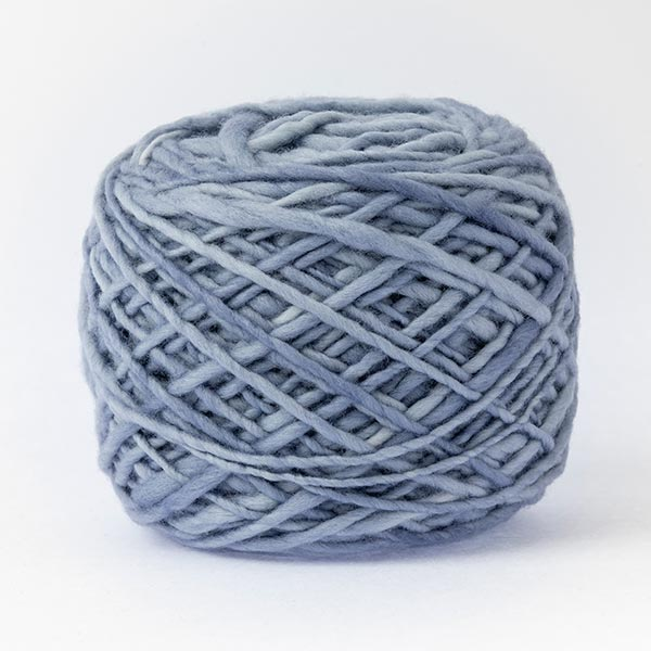 100% merino wool periwinkle blue colour