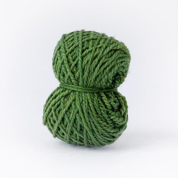 Karoo moon dark green small ball wool