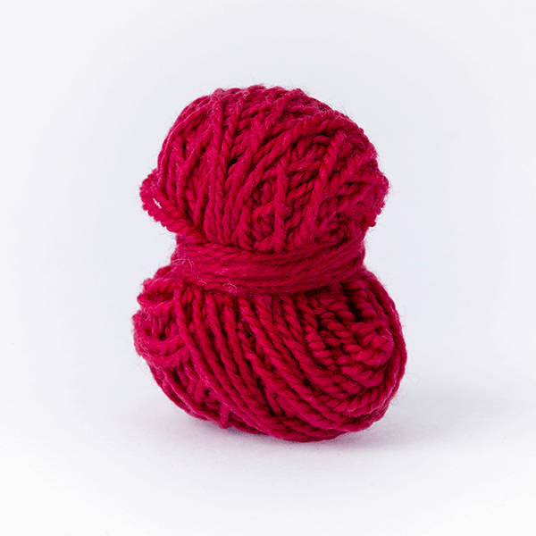 Bordeaux red mini moon merino wool