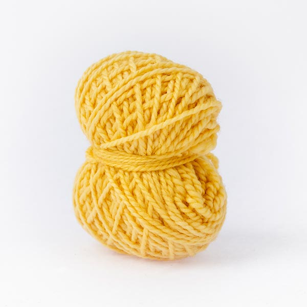 butter yellow Karoo Moon wool