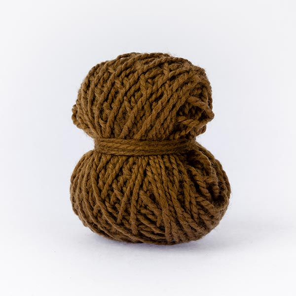 minimoon balls of wool merino olive brown